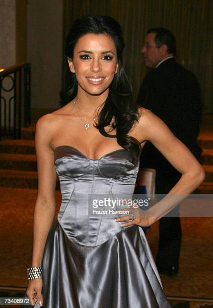 Actress Eva Longoria attends The National Hispanic Media Coalition's 10th Annual Impact Awards Gala at the Regent Beverly Wilshire Hotel on February...