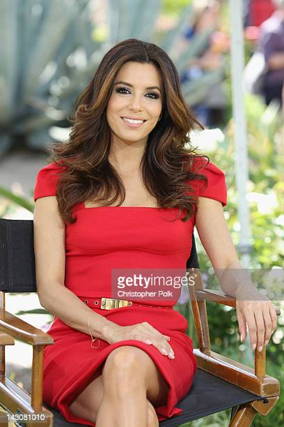 Actress Eva Longoria attends the NBCUniversal summer press day held at The Langham Huntington Hotel and Spa on April 18, 2012 in Pasadena, California.