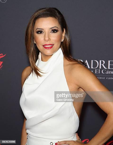 Actress Eva Longoria attends the Padres Contra El Cancer's 16th annual 'El Sueno de Esperanza' celebration at The Venetian Las Vegas on August 20...