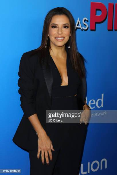 Actress Eva Longoria attends the premiere of Las Pildoras De Mi Novio at ArcLight Hollywood on February 18 2020 in Hollywood California