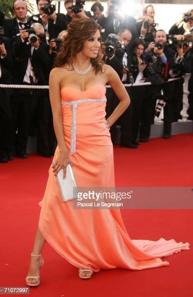 Actress Eva Longoria attends the premiere of 'Transylvania' during the 59th International Cannes Film Festival closing ceremony at the Palais May 28...