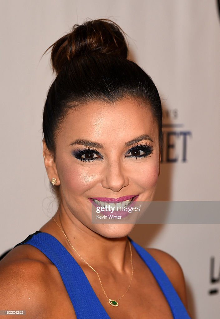 Actress Eva Longoria attends the screening of GKIDS' 'Kahlil Gibran's the Prophet' at Bing Theatre at LACMA on July 29, 2015 in Los Angeles, California.