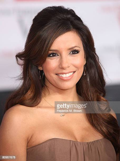 """Actress Eva Longoria attends the """"What Happens In Vegas"""" film premiere at the Mann Village Theater on May 1, 2008 in Los Angeles, California."""