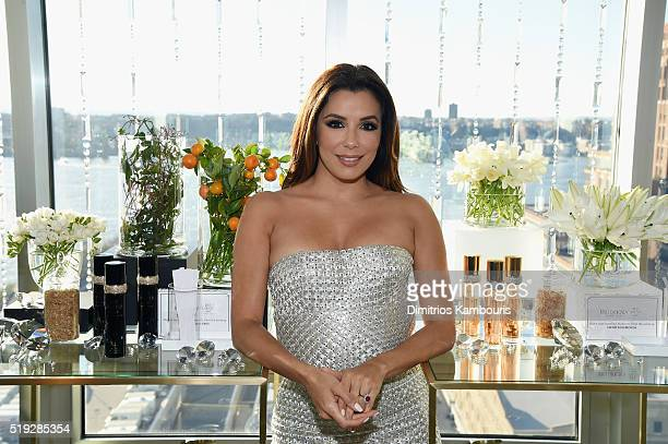 Actress Eva Longoria cohosts White Diamonds Elizabeth Taylor fragrance 25th anniversary celebration and White Diamonds Night launch at The...
