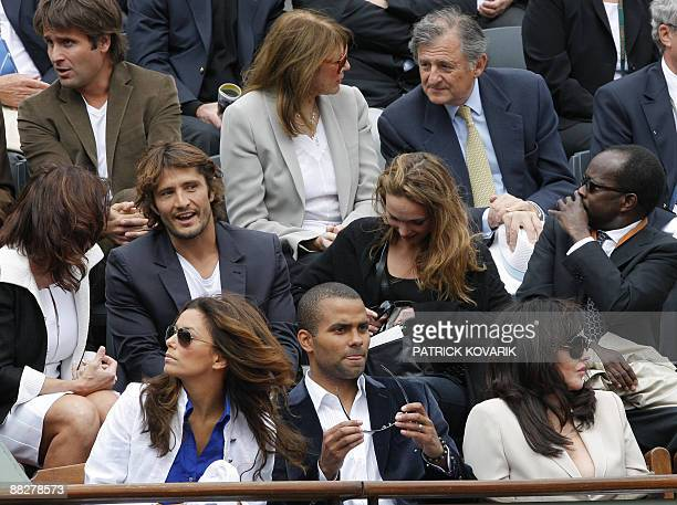 US actress Eva Longoria husband basketballer Frenchman Tony Parker French actress Isabelle Yasmine Adjani Former Football player Frenchman Bixente...