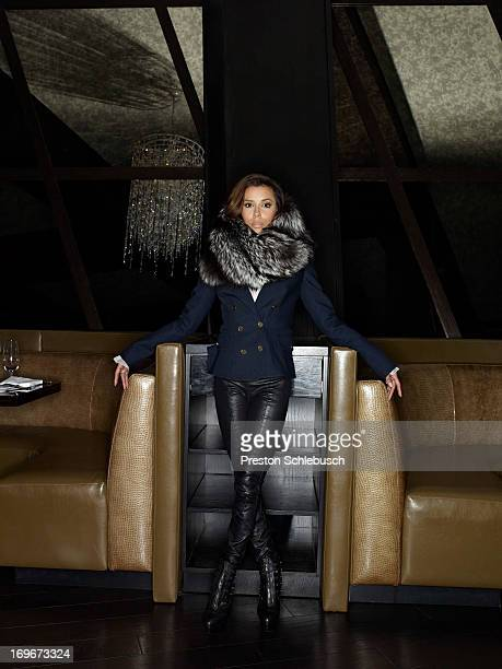 Actress Eva Longoria is photographed for Conde Nast Traveler Spain on May 6 2010 at her restaurant Beso in Las Vegas Nevada PUBLISHED IMAGE
