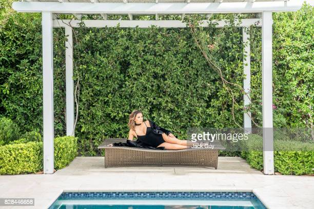 Actress Eva Longoria is photographed for Latina Magazine on October 11 2016 in Los Angeles California PUBLISHED IMAGE