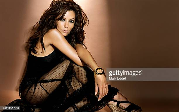 Actress Eva Longoria Is Photographed For Ocean Drive Magazine On April 1 2006 In Los Angeles