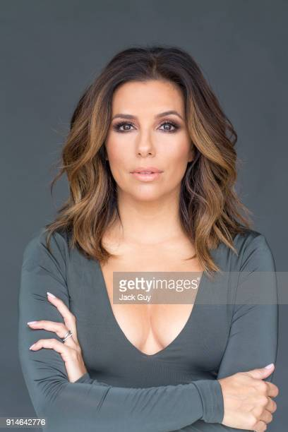 Actress Eva Longoria is photographed for Self Assignment on October 11 2016 in Los Angeles California
