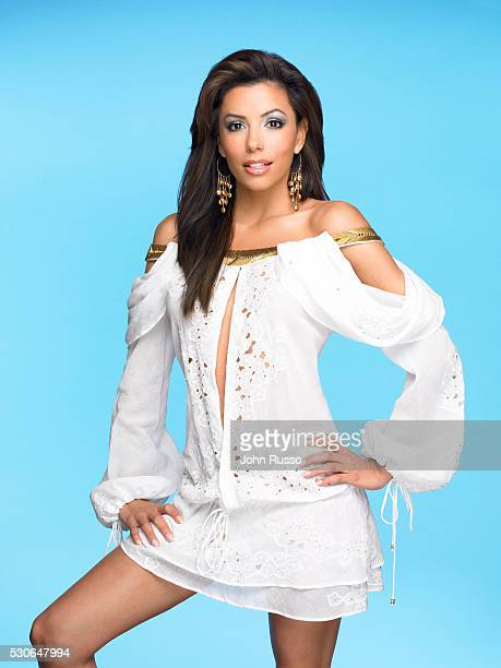 Actress Eva Longoria is photographed on March 19, 2005.