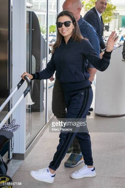 Actress Eva Longoria is seen on May 11 2019 in Cannes France