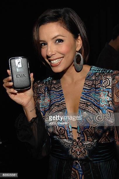 Actress Eva Longoria Parker attends the Blackberry Bold launch party at a private residence on October 30 2008 in Beverly Hills California