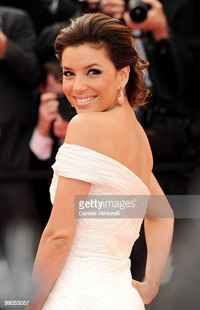Actress Eva Longoria Parker attends the Opening Night Premiere of 'Robin Hood' at the Palais des Festivals during the 63rd Annual International...