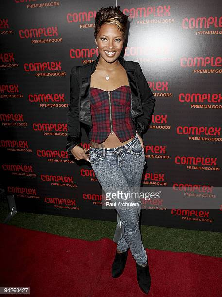 Actress Eva Marcelle Pigford arrives at MyHouse Nightclub on December 9 2009 in Hollywood California
