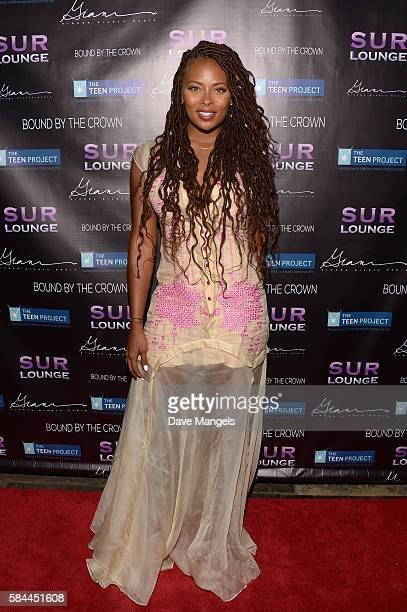 Actress Eva Marcille attends Teen Project LA's 2016 Teen Dream at Sur Restaurant on July 28, 2016 in Los Angeles, California.