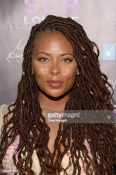 Actress Eva Marcille attends Teen Project LA's 2016 Teen Dream at Sur Restaurant on July 28 2016 in Los Angeles California