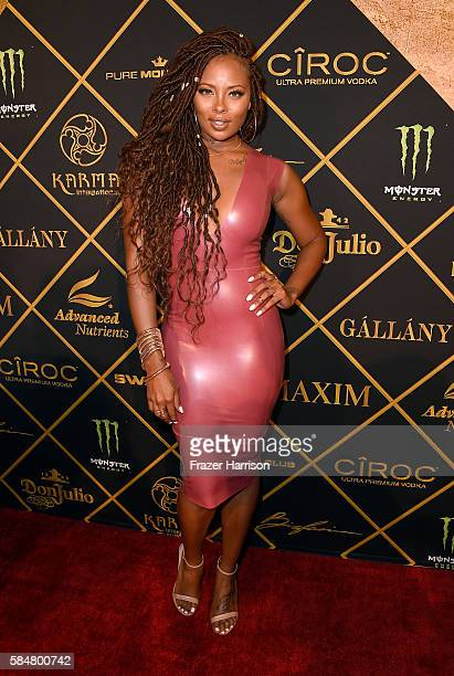 Actress Eva Marcille attends the 2016 MAXIM Hot 100 Party at the Hollywood Palladium on July 30 2016 in Los Angeles California