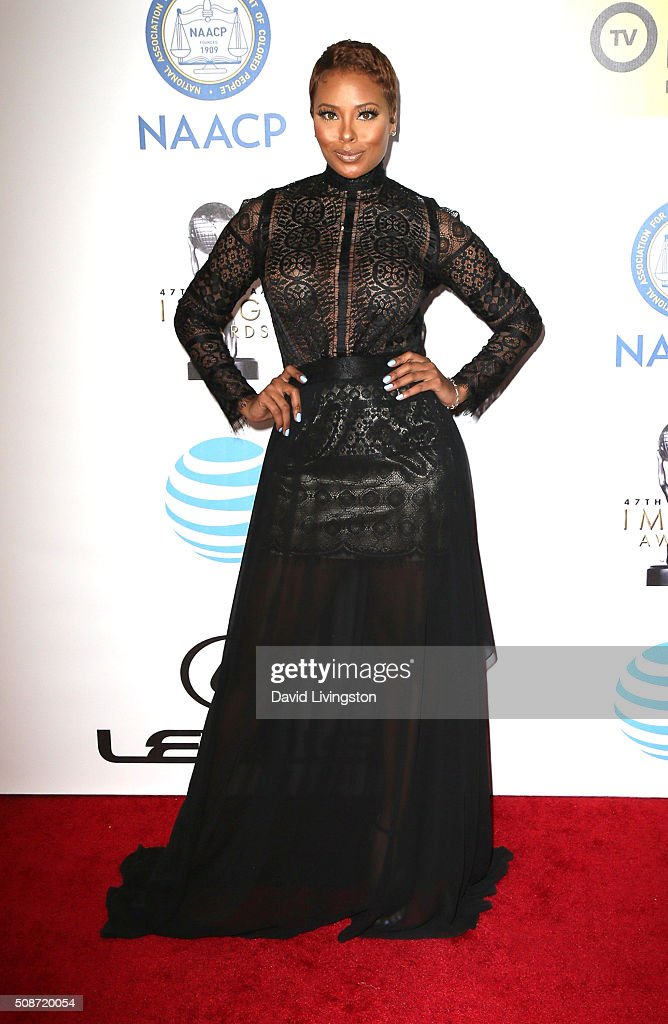 Actress Eva Marcille attends the 47th NAACP Image Awards presented by TV One at Pasadena Civic Auditorium on February 5, 2016 in Pasadena, California.