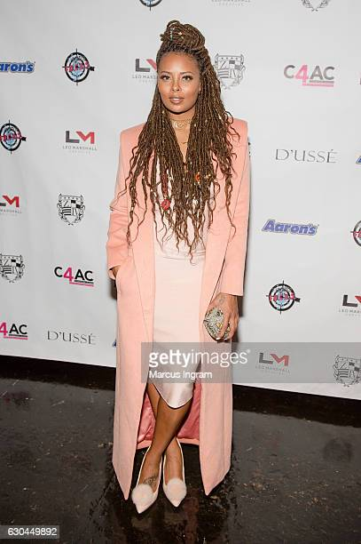 Actress Eva Marcille attends the 9th Annual Celebration 4 A Cause Fashion Show at King Plow Arts Center on December 22 2016 in Atlanta Georgia