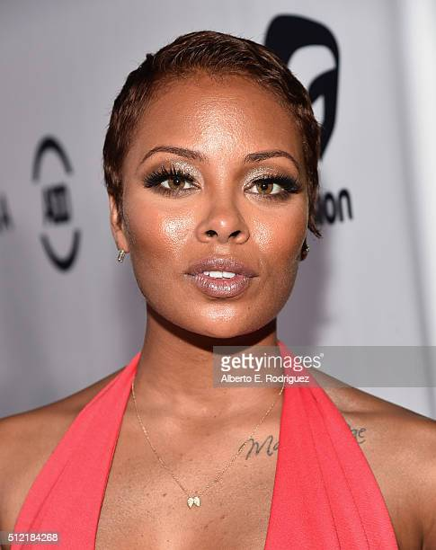 Actress Eva Marcille attends the ALL Def Movie Awards at Lure Nightclub on February 24 2016 in Hollywood California