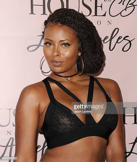 Actress Eva Marcille attends the House of CB flagship store launch at House Of CB on June 14 2016 in West Hollywood California