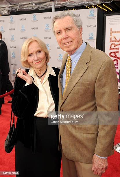 Actress Eva Marie Saint and director Jeffrey Hayden arrive at the 2012 TCM Classic Film Festival Opening Night Gala held at Grauman's Chinese Theatre...