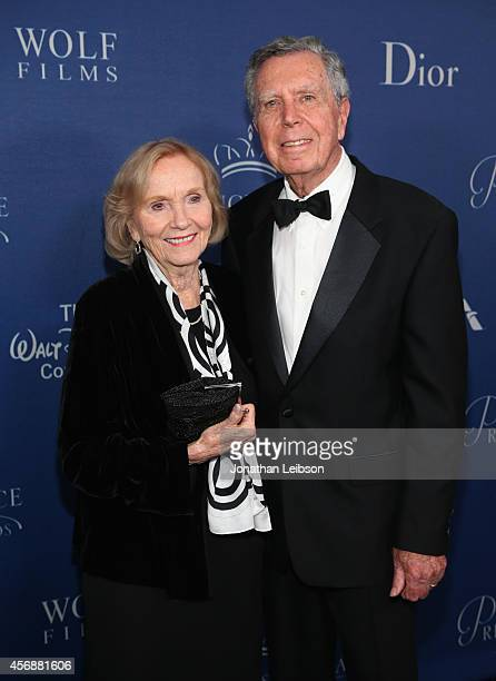 Actress Eva Marie Saint and director Jeffrey Hayden attend the 2014 Princess Grace Awards Gala with presenting sponsor Christian Dior Couture at the...