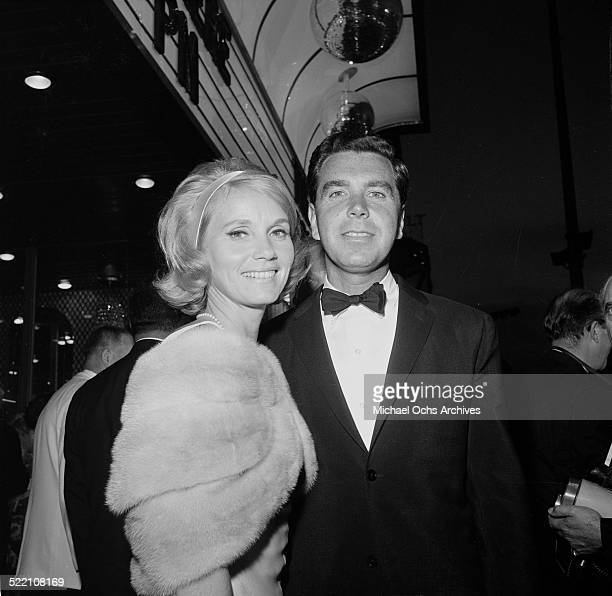 Actress Eva Marie Saint and Jeff Hayden attend an event in Los Angeles,CA.
