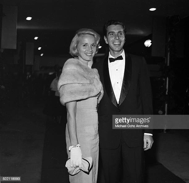 Actress Eva Marie Saint and Jeff Hayden attend an event in Los AngelesCA