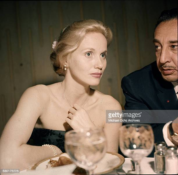 Actress Eva Marie Saint attends an event in Los AngelesCA