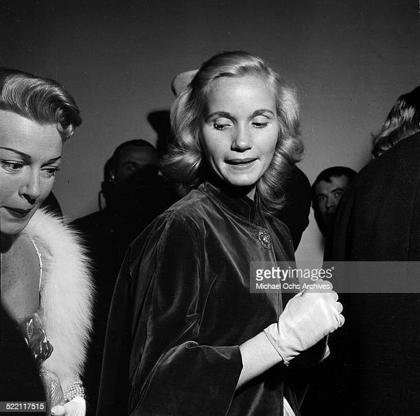 Actress Eva Marie Saint attends party in Los AngelesCA