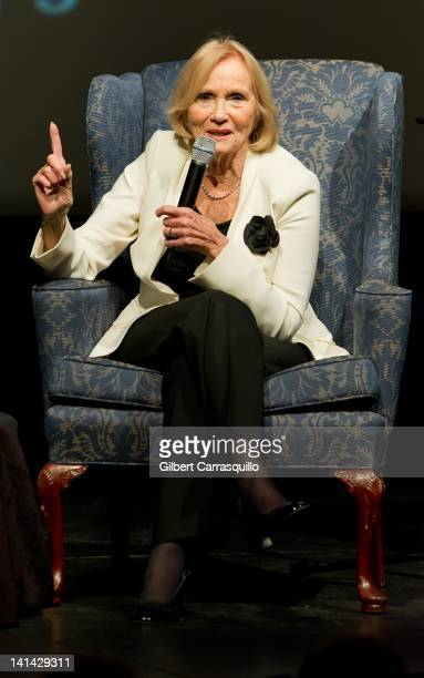 Actress Eva Marie Saint attends the North By Northwest screening at the Prince Music Theater on March 15 2012 in Philadelphia Pennsylvania