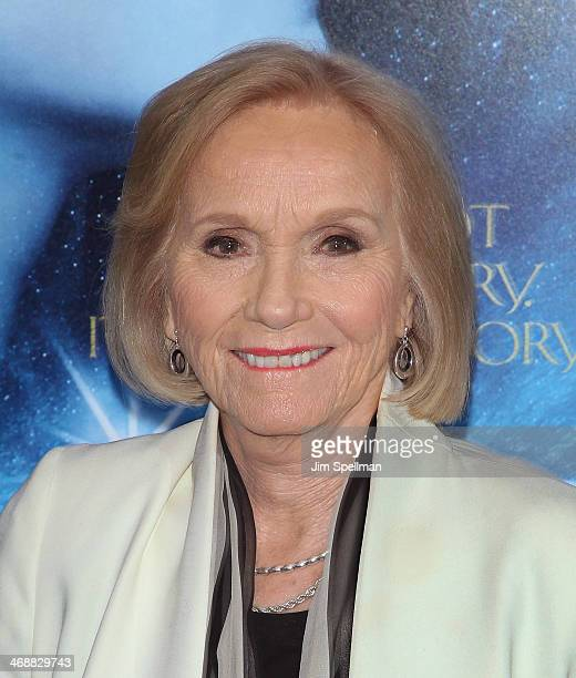 Actress Eva Marie Saint attends the Winter's Tale world premiere at Ziegfeld Theater on February 11 2014 in New York City
