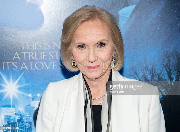 """Actress Eva Marie Saint attends the """"Winter's Tale"""" world premiere at Ziegfeld Theater on February 11, 2014 in New York City."""