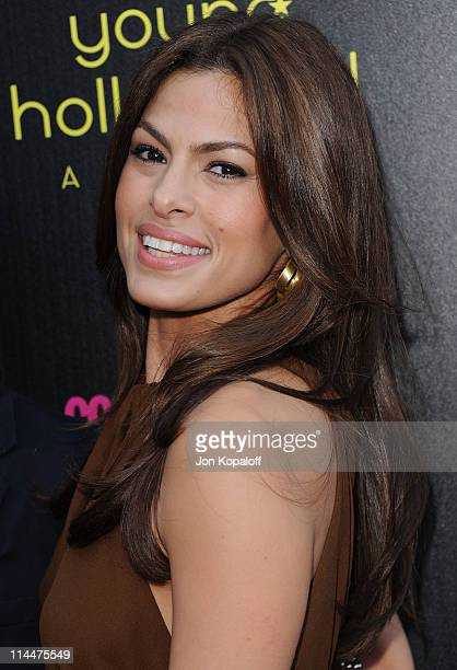 Actress Eva Mendes arrives at the 13th Annual Young Hollywood Awards at Club Nokia on May 20 2011 in Los Angeles California