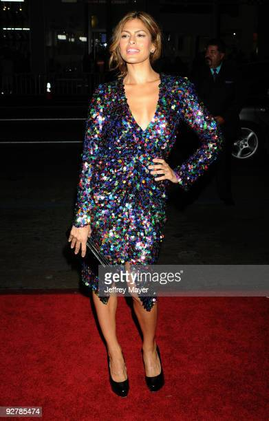 Actress Eva Mendes arrives at the AFI FEST 2009 Screening Of The Bad Lieutenant: Port Of Call New Orleans at Grauman's Chinese Theatre on November 4,...