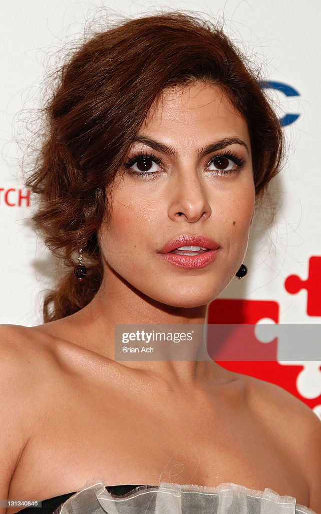 Actress Eva Mendes attends the 5th annual DKMS Gala at Cipriani Wall Street on April 28, 2011 in New York City.