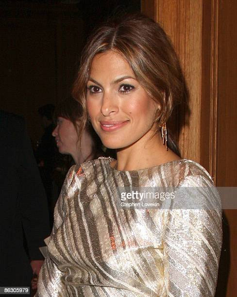 Actress Eva Mendes attends the Cartier 100th Anniversary in America Celebration at Cartier Fifth Avenue Mansion on April 30 2009 in New York City
