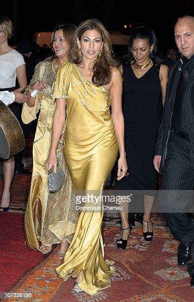 Actress Eva Mendes attends the Dior Party during the10th Marrakech Film Festival on December 4, 2010 in Marrakech, Morocco.