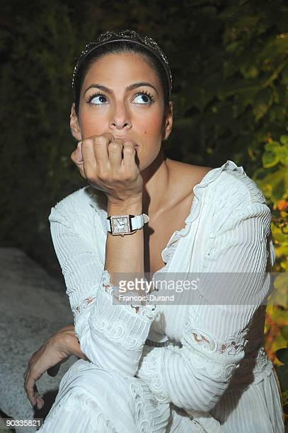 Actress Eva Mendes attends the JaegerLeCoultre Host Bad Lieutenant Port of Call New Orleans Dinner held at Cipriani during the 66th Venice Film...