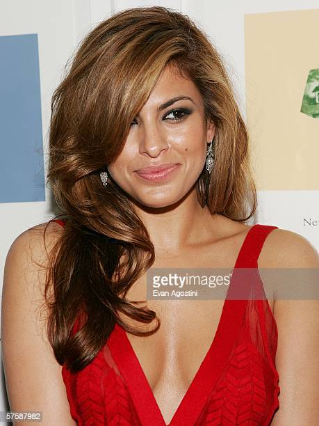 Actress Eva Mendes attends the Whitney Contemporaries hosted ARTPARTY benefiting the Whitney Museum of American Art's Independent Study Program and...