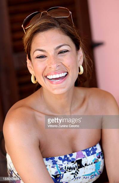 COVERAGE Actress Eva Mendes poses for a portrait session during the 2009 Giffoni Experience on July 17 2009 in Giffoni Vallepiana near Salerno Italy...