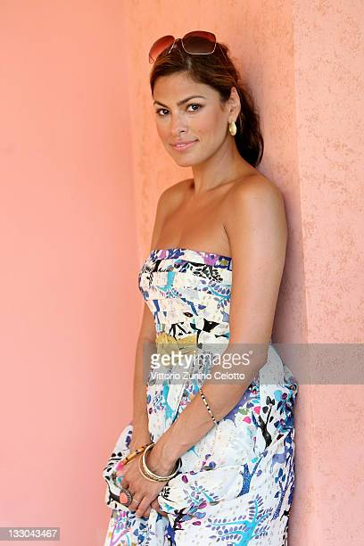 COVERAGE Actress Eva Mendes poses for a portrait session during the 2009 Giffoni Experience on July 17 2009 in Giffoni Vallepiana near Salerno ItalyDD