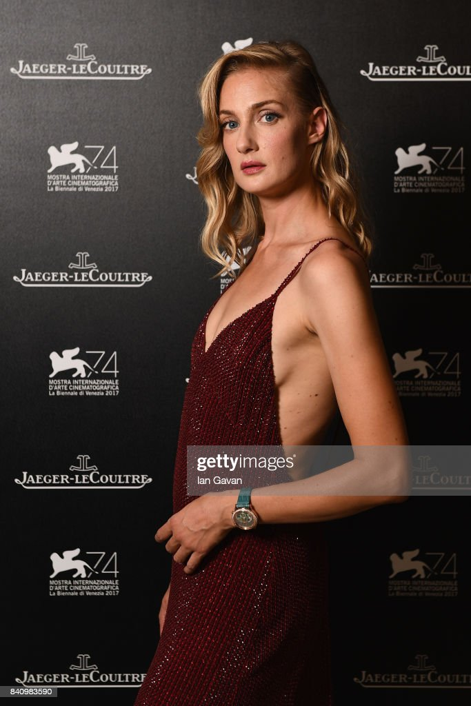 Actress Eva Riccobono wearing a Jaeger-LeCoultre Rendez-Vous Sonatina Large Love watch poses for a portrait during the 74th Venice Film Festival at Hotel Excelsior on August 31, 2017 in Venice, Italy.