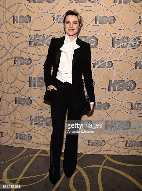 Actress Evan Rachel Wood arrives at HBO's Official Golden Globe Awards After Party at Circa 55 Restaurant on January 8 2017 in Los Angeles California