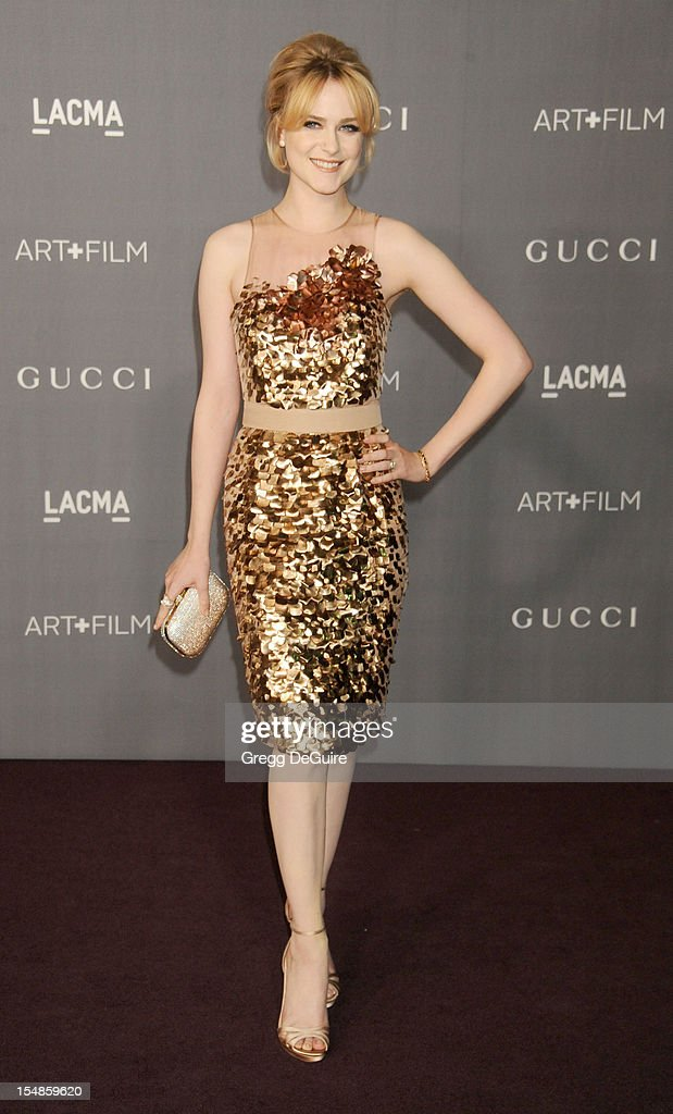Actress Evan Rachel Wood arrives at LACMA Art + Gala at LACMA on October 27, 2012 in Los Angeles, California.