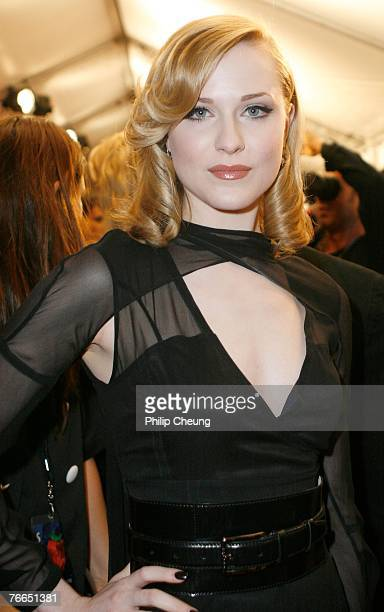 Actress Evan Rachel Wood arrives at the Across the Universe world premiere during the Toronto International Film Festival 2007 held at the Roy...