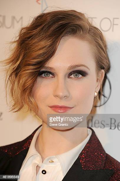 Actress Evan Rachel Wood arrives at The Art of Elysium's 7th Annual HEAVEN Gala presented by Mercedes-Benz at Skirball Cultural Center on January 11,...