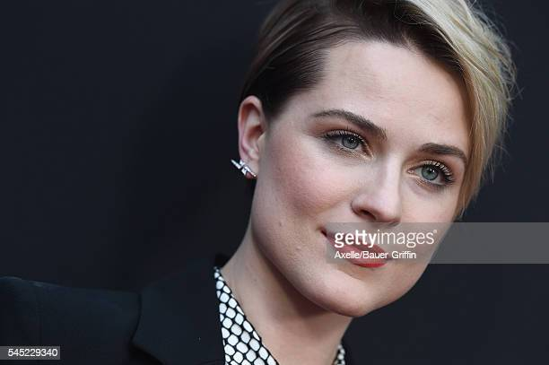 Actress Evan Rachel Wood arrives at the premiere of A24's 'Into The Forest' at ArcLight Hollywood on June 22 2016 in Hollywood California
