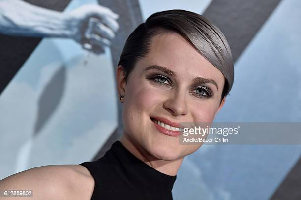 Actress Evan Rachel Wood arrives at the premiere of HBO's 'Westworld' at TCL Chinese Theatre on September 28 2016 in Hollywood California